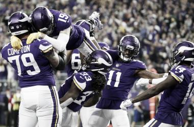 Los Vikings retornaron a la senda del triunfo // Foto: NFL Network