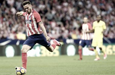 La madurez de Saúl: 100 partidos en Liga FOTO: Atlético de Madrid