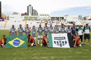 Maringá Futebol Clube se prepara para o Paranaense