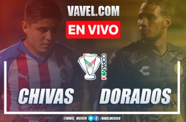 Goles y Resumen: Chivas de Guadalajara 2-1 Dorados de Sinaloa en Copa MX 2020