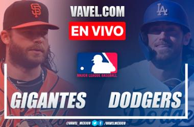 Resumen y carreras: San Francisco Giants 2-3 Los Ángeles Dodgers en MLB 2021