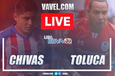 Goals and Highlights: Chivas 2-2 Toluca in 2020 Liga MX