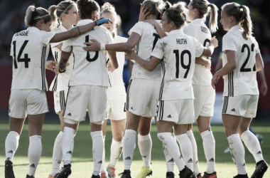 Germany's World Cup preparations continue at the SheBelieves Cup | Source: Matthias Hangst-Bongarts