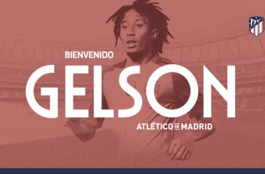 El Atlético de Madrid se hace con los servicios de Gelson Martins/ Fuente: Atlético de Madrid