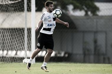 Donizete teve poucas chances no Santos (Foto: Ivan Storti/Santos FC)