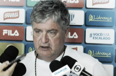 Geninho lamentou gols perdidos contra o Guarani e já pensa no clássico (Foto: André Palma Ribeiro/Avaí FC)