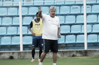 Geninho falou sobre a entrada de Anderson Lopes e as chances de ganhar a titularidade (Foto: André Palma Ribeiro/Avaí)