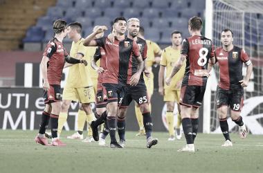 Preciso nas finalizações, Genoa bate Hellas Verona e garante permanência na Serie A