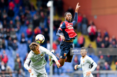 Genoa C.F.C and A.S Roma during last seasons 1-1 draw (Source: GettyImages)
