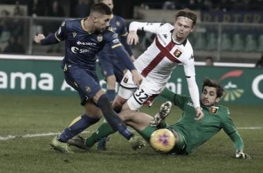 Genoa encara Verona na luta para seguir na elite do futebol italiano