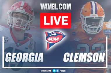 Touchdown and Highlights: Georgia 10-3 Clemson in NCAA Football