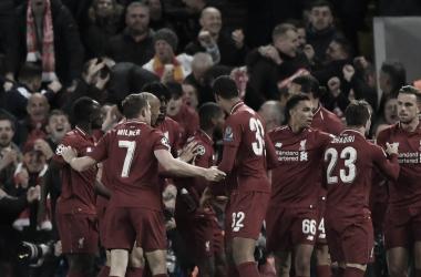 Remontada del Liverpool vs. Barcelona. Foto: UEFA Champions League.