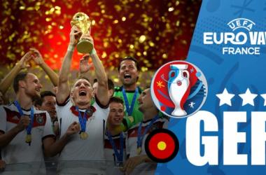 Uno scatto da ciascuna delle 10 partite che hanno portato la Germania a qualificarsi all'Europeo. | VAVEL, Google.