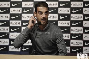 """Gerard López: """"El empate es justo, ha sido un partido muy igualado"""""""