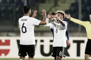 Esultanza al momento del gol - www.vavel.com/it