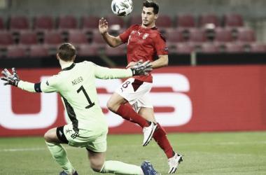 Em jogo emocionante, defesas pecam e Alemanha fica no empate contra Suíça
