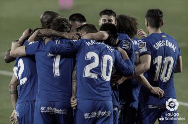 Contundente victoria del Getafe ante el Valencia en el Coliseum./ Foto: LaLiga Santander