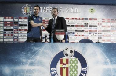 """Sarabia: """"El Getafe es mi club, y por eso he decidido seguir aquí"""""""
