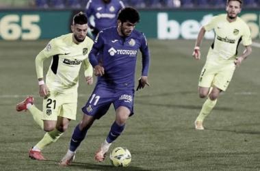 Resumen Getafe vs Atlético de Madrid en LaLiga 2021 (1-2)