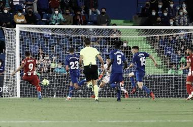 Getafe vs Atlético, jornada 6 de LaLiga // Fuente: Atlético de Madrid