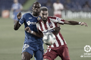 Getafe vs Atlético, 19/20 // Fuente: La Liga