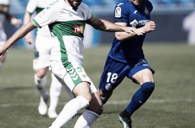 Getafe vs Elche, LaLiga Santander // Fuente: Elche CF