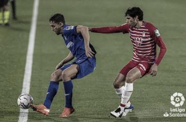 Getafe vs Granada, jornada 12, El Coliseum // Fuente: LaLiga