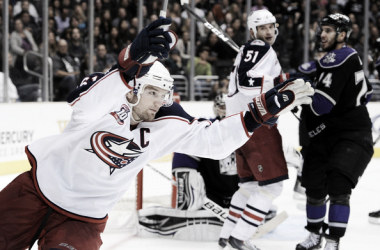 Rick Nash ha sido capitán y gran estrella de los Columbus Blue Jackets | Foto: Getty Images North America