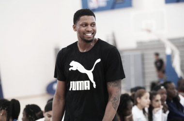 Rudy Gay durante el NBA Africa Game | Fuente: San Antonio Spurs