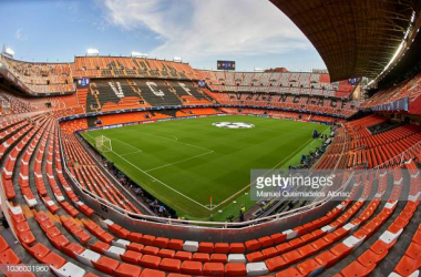 Valencia held at home by Real Sociedad (Getty Images/Manuel Queimadelos Alonso)