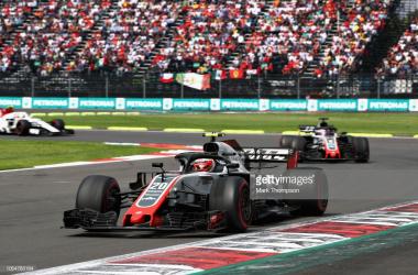 Haas en el GP de México | Foto: Getty Images
