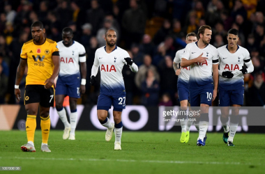 Spurs took the points at Molineux in November. (Photo: Getty Images/Sam Bagnall)