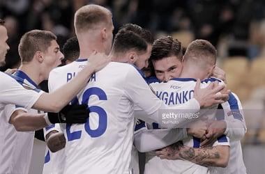 Celebra Dinamo. Foto: Getty images.