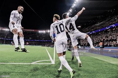 PSG Celebra, foto: Getty images.