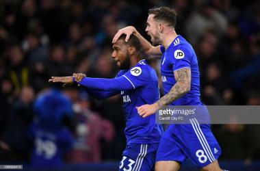 Cardiff City 2-1 Wolverhampton Wanderers: A Hoilett stunner seals acrucial win as the Bluebirds soar up the table