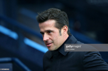 Marco Silva was left to rue his side's missed chances as they lost 3-1 against Manchester City. (picture: Getty Images / Alex Livesey)