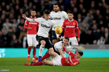 Both sides struggled to create many clear cut chances in Monday's goalless draw. (picture: Getty Images / Gareth Copley)