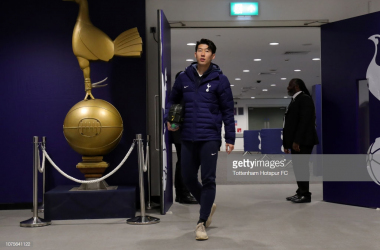 Heung-min Son starts. (Photo: Getty Images/Tottenham)