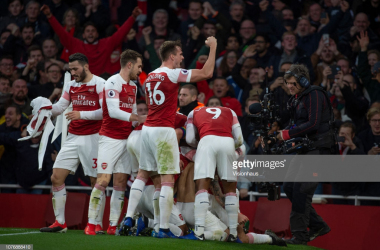 Arsenal will be looking to return to winning ways this weekend against Huddersfield Town. (picture: Getty Images / Visionhaus)