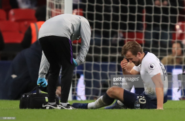 Spurs will be sweating on the fitness of Harry Kane | Photo via Getty Images