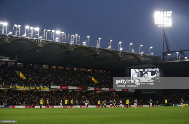 Vicarage Road will play host to Saturday's clash