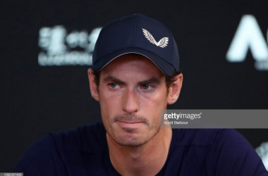 Murray speaks to the press in Melbourne/Photo: Scott Barbour/Getty Images