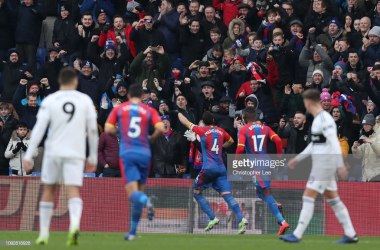 Milivojevic gave Palace the lead from the penalty spot. (Photo Credit: Christopher Lee/Getty Images)