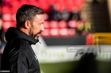 Aberdeen boss Derek McInnes (GettyImages/Scott Baxter)