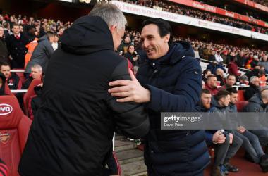 Former player Emmanuel Petit backs Arsenal to beat United