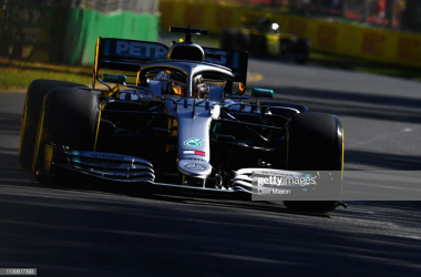 Hamilton fastest in both sessions on Friday (Photo credit: Clive Mason, Getty Images)