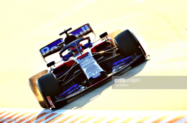 Kvyat surprises by going fastest (Photo Credit: Dan Istitene, Getty Images)