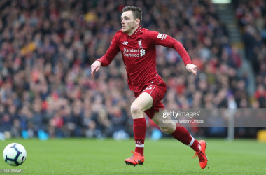 Andy Robertson ruled out of Scotland's clash with Kazakhstan