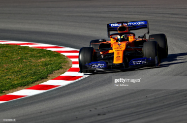 Lando Norris fastest on the opening day of week two of testing (Photo Credit: Dan Istitene, Getty Images)
