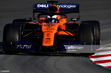 Sainz fastest during testing (Photo Credit: Dan Istitene, Getty Images)